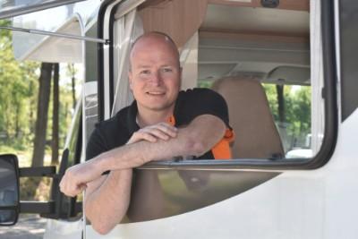 Nick Huiskes van Auto Import Coach