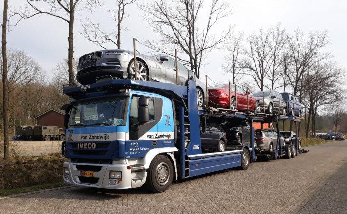 Nieuwe lading auto's komt binnen